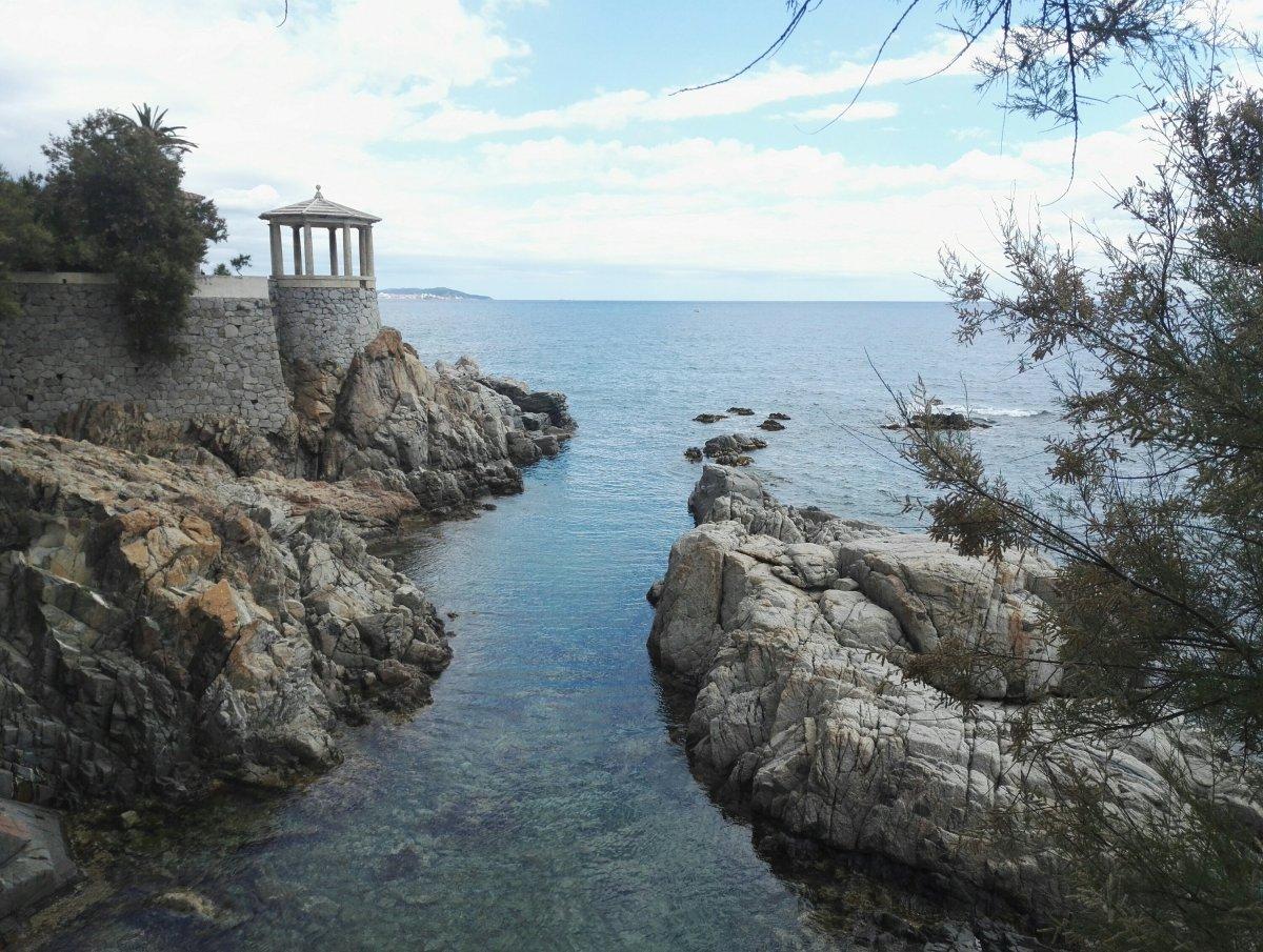 Camino de Ronda: S'Agaró - platja Sa Conca - Sant Feliu de Guixols