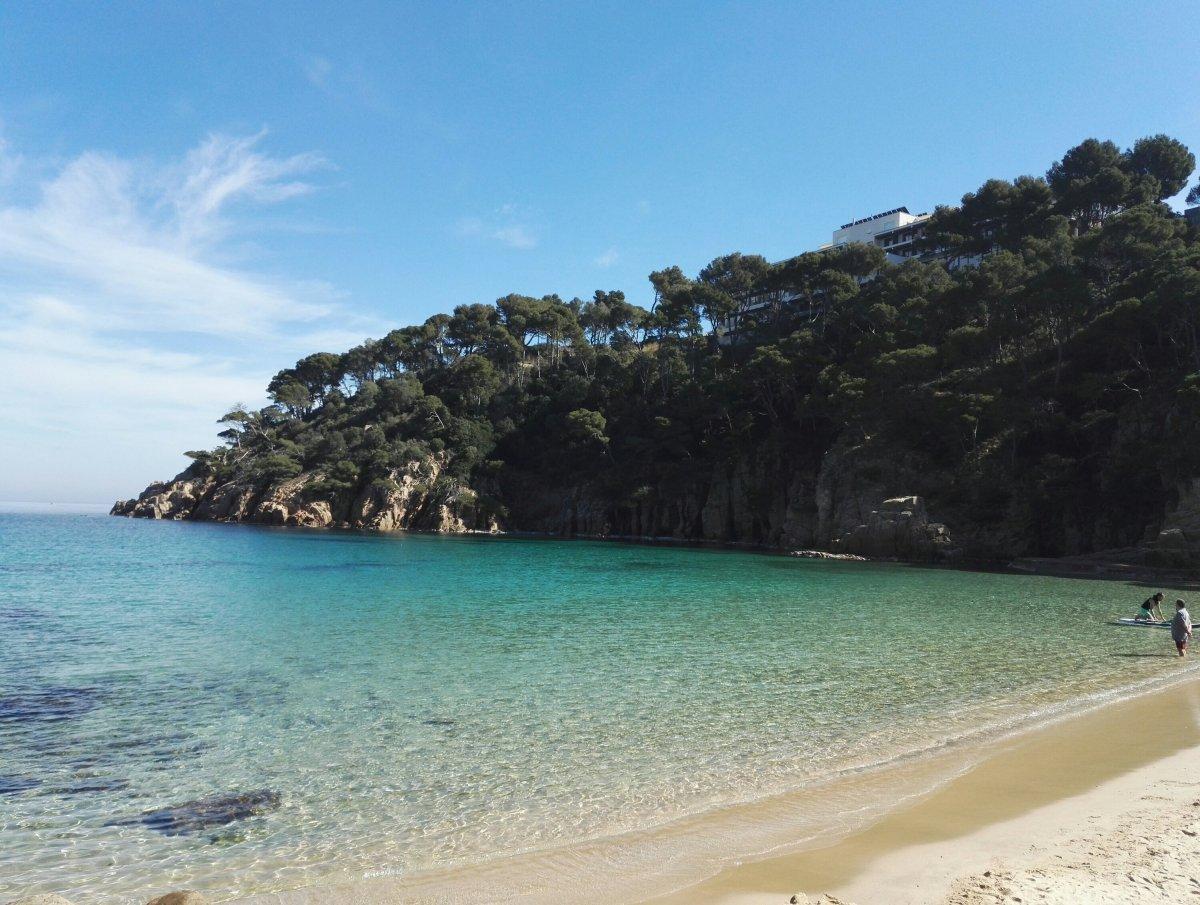Camino de Ronda: Tamariu - Platja Fonda